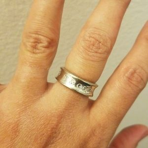 Tiffany & Co 1837 Sterling Silver Ring